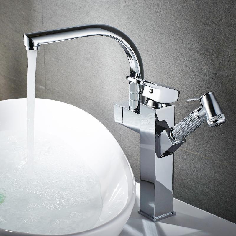 Fapully Luxury Chrome Basin Tap Fancy Bathroom Faucet Wash Basin ...
