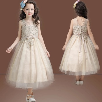 Kids Dress Photo Hand Embroidery Designs For Baby Dress Girls