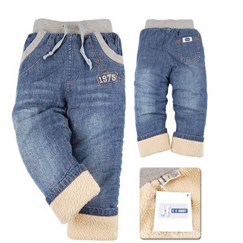 a45b7c8f98ad Buy New fashion winter style children  39 s jeans clothes plus velvet thick  kids harem pants for baby boys toddler boy pants trousers in Cheap Price on  ...