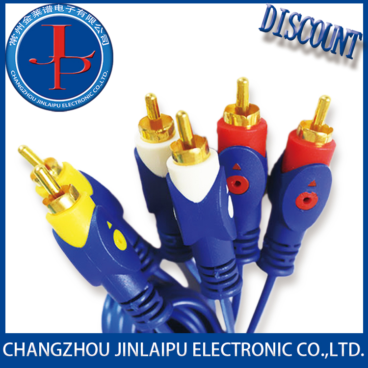 Jinlaipu rca plug silver plated With Good After-sale Service