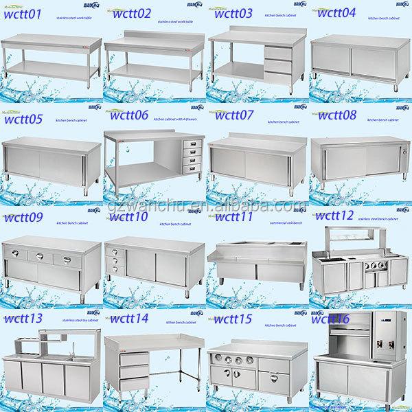 Grosir S Kabinet Dapur Komersial Stainless Steel Dinding Gantung Lemari Dengan Pintu Geser