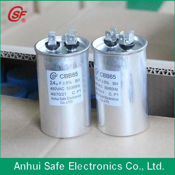 480 Vac 24uf In Alluminio Condensatore Di Marcia 480 Volt
