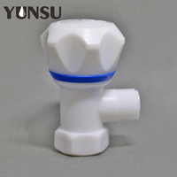 Plastic ABS Handle hot sell Body Angle Stop Valve from China