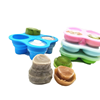 Hot Selling Reusable Eco-friendly Silicon Baby Food Freezer Storage Meal Container Feeding Tableware Cover With Lid