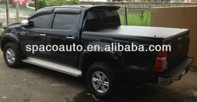 2013 Toyota hilux hot truck bed tonneau cover