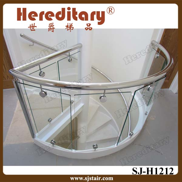 stainless steel glass clip / glass clamp hardware /handrail fitting