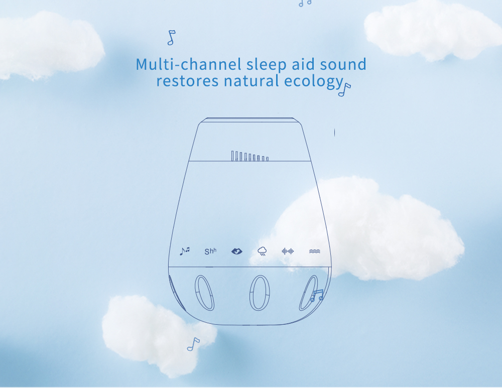 2019 new trend Good baby SoundSpa White Noise Machine