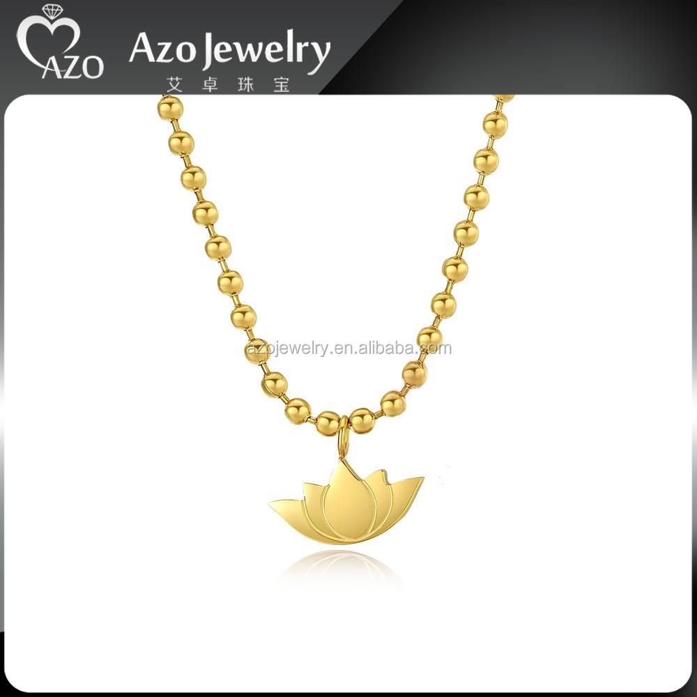 Fashion stainless steel gold lotus flower pendant necklace jewelry fashion stainless steel gold lotus flower pendant necklace jewelry buy lotus flowerlotus flower pendantlotus flower jewelry product on alibaba izmirmasajfo