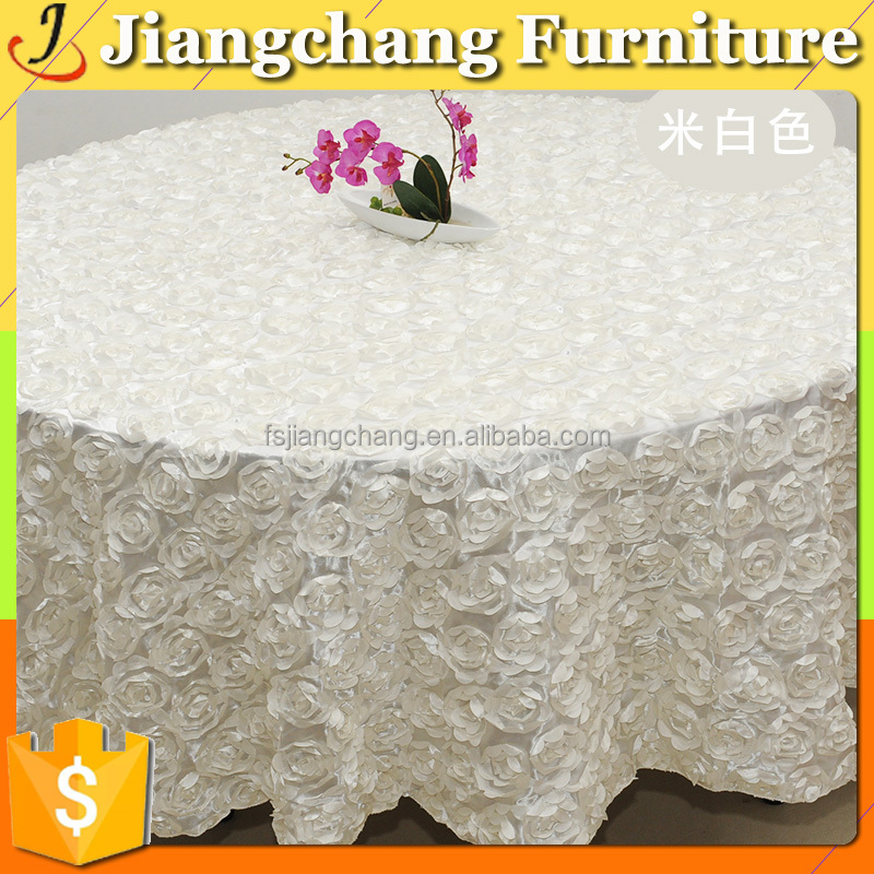 Color Wedding Decoration Table Rose Clothes