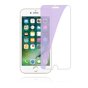 Wholesale Service 2.5D Round Edge Anti Blue Light Tempered Glass Screen Protector for iPhone 6/6S