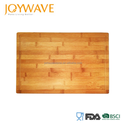 2017 hot selling eco friendly bamboo wooden cutting chopping board set
