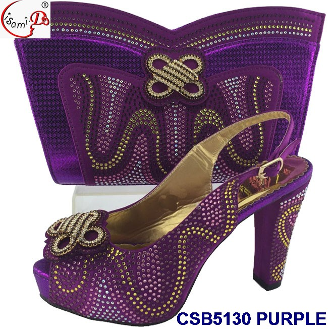 quality CSB5130 shoes bags ladies High african color gold and set matching 55nfr40q