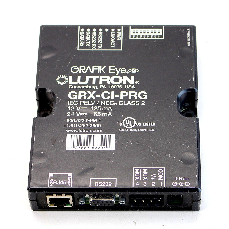 Cheap Lutron Lighting Control Find Deals On Light And Fan Wiring Diagram S2 Lfsq Get Quotations Grafik Eye Grx Ci Prg Programming Interface System 12 24v