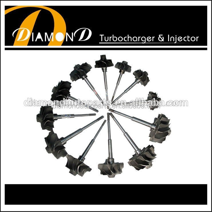 TOYOTA Turbo CT12B shaft wheel /Turbine wheel 17201-67010