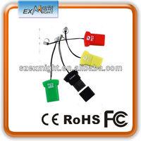 ROHS T-shirt external usb 2.0 single sd card reader