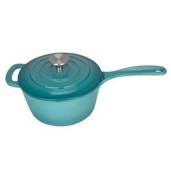 Enameled Cast Iron Covered Cast Iron Pot 25 Quart Sauce Pan Buy