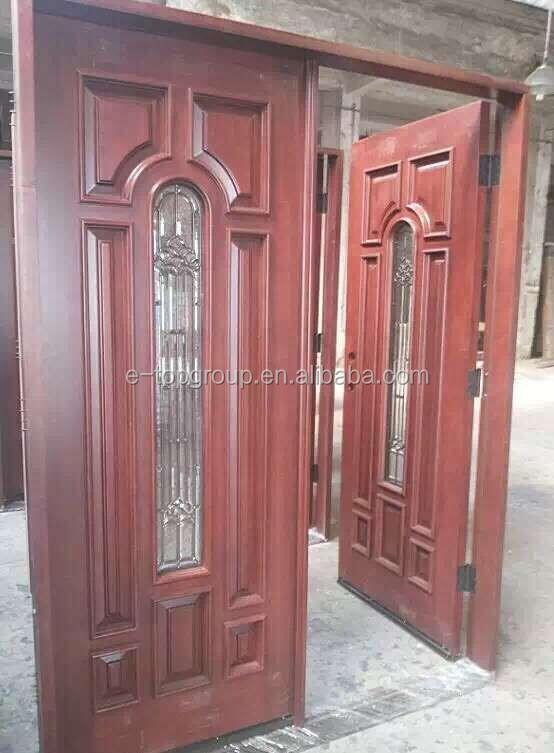 Exterior Grade Wood Door on