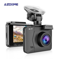 Manufacture dual lens 4k car dash cam new arrive car black box 1080P/60fps with GPS WIFI Car DVR