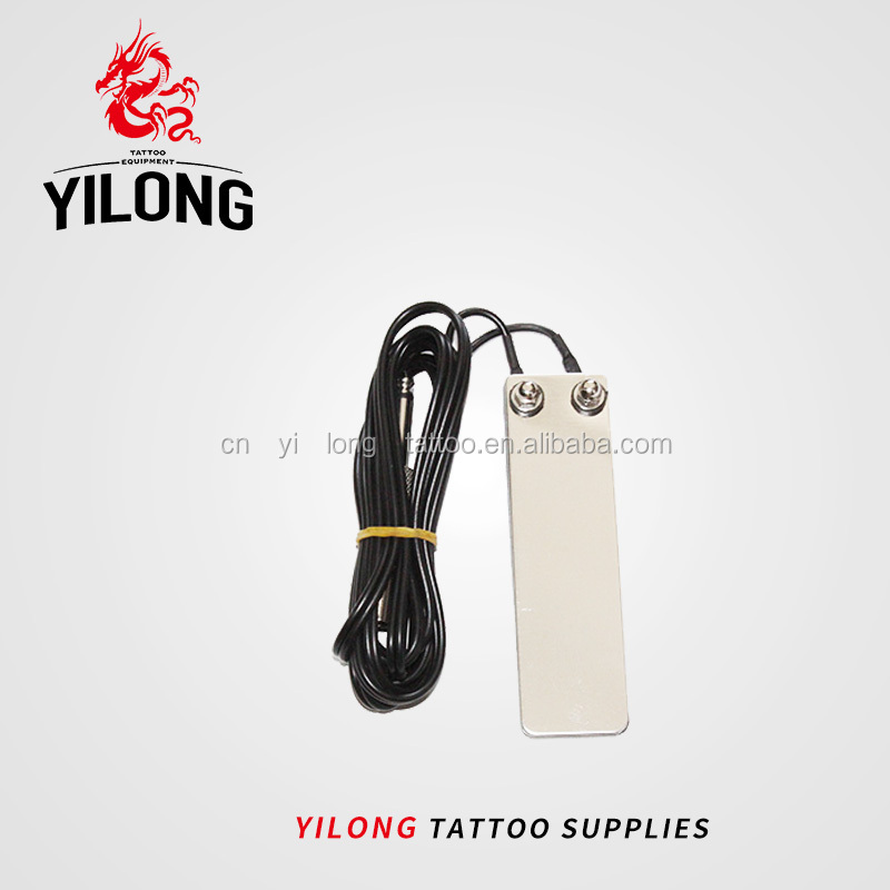 Yilong Wholesale Mini Tattoo Pedal Stainless Top Quality Foot Switch