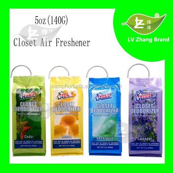 Delightful New Pack 5oz (140G)Fragrance Closet Deodorizer Air Freshener