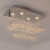 Living Room Crystal Chandelier Ceiling Lamp