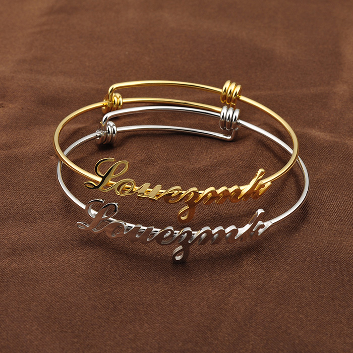 2017 Adjustable Ladies Fancy Designer Silver Bracelets Bangles ...