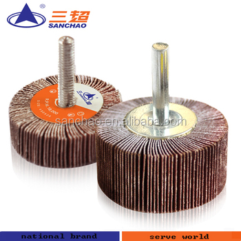 Abrasive Flap Wheel With Shaft Buy Flap Wheel Abrasive