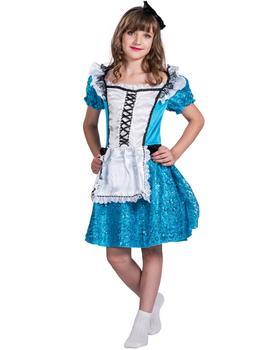 Alice In Wonderlandu0027s Lovely Maid Costume Cosplay For Female Child Size