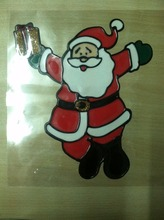 Christmas and Halloween decorations, PVC Color Gel Glass Window Sticker