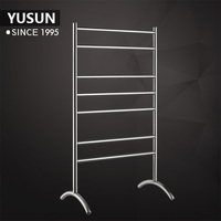 New design Freestanding stainless steel Heated towel rails