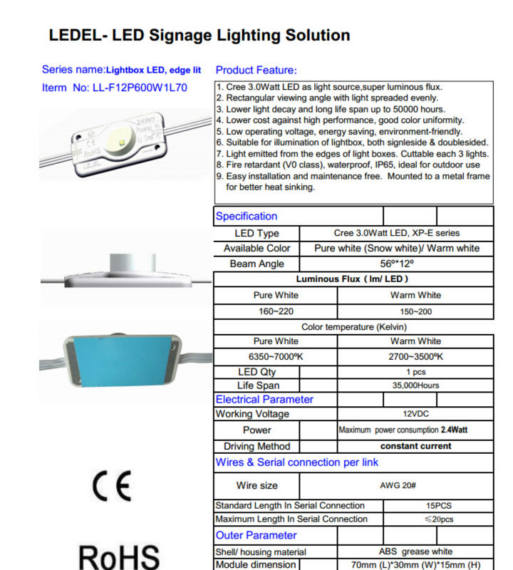 Led Lights For Poster Board High Quality High Power Led Module In ...