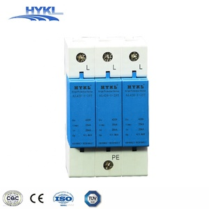 HYKL DC devices Anti lightning arrestor 2P L+N Uc385V 275V 420Vac surge protection device