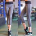 Women capris pants sports leggings fitness pants for women yoga socks tights leggings gym leggings sports