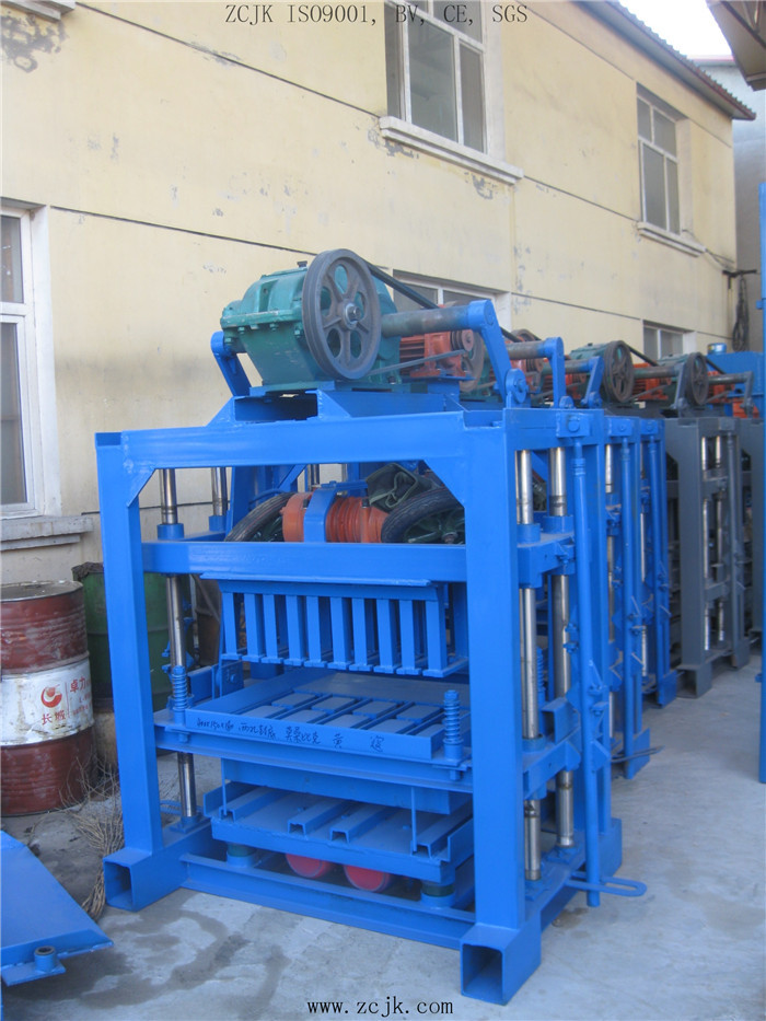 ZCJK QTJ4-40 multi purpose handmade small cement brick making machine price list