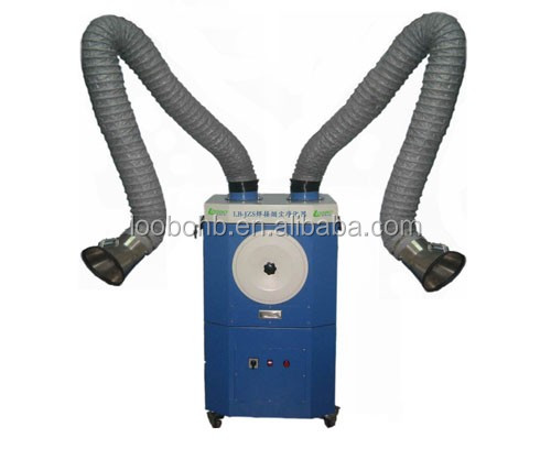 Mobile stand alone welding smoke extractor/weld fume extractor for the fume collection