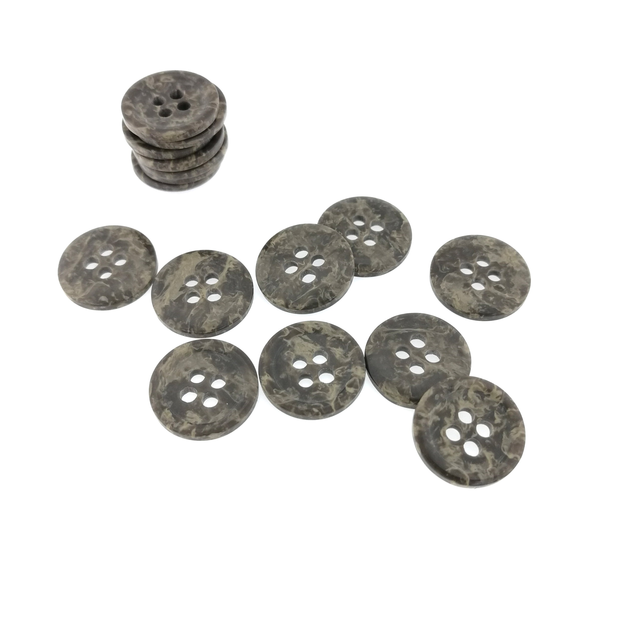 Latest Design Best Price Polyester Nickel-Free Four Holes Buttons For Dress
