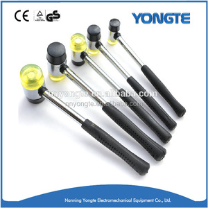 Double Face Hard Rubber Mallet/Plastic Rubber Hammer