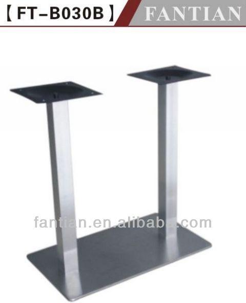 Patas de acero inoxidable para mesas de comedor casa for Patas acero para mesas