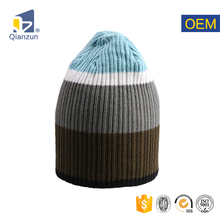 100 acrylic wholesale blank pom your own logo sublimation custom rib basic knit beanie hat cap no minimum