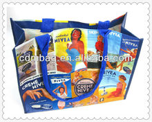 Promotional woven PP Laminated eco bag