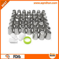 304 stainless steel russian piping tips for cake decoration