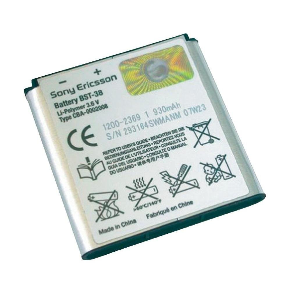 Get Quotations · SONY ERICSSON - ORIGINAL SONY ERICSSON BATTERY BST-38 SONY  ERICSSON FOR Xperia X10 mini