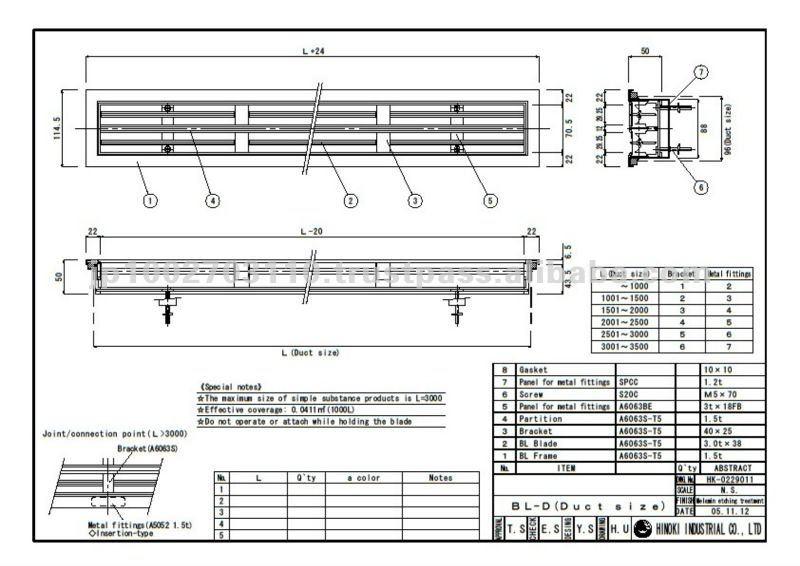 Wooden Breeze Line Diffuser For Ventilation Duct - Buy Bld Wood,Line  Diffuser,Air Diffuser Product on Alibaba com