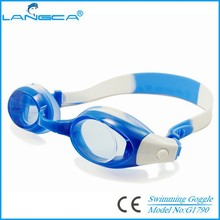 Hot selling antifog children swimming glasses,Silicone kids goggles swimming
