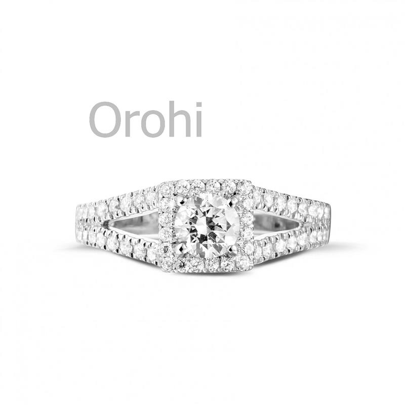 Y00220- Big Stone Engagement Rings For Lady,925 Silver Engagement ...