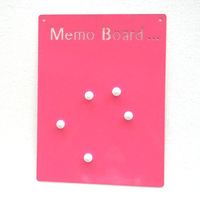 Metal Wall-mounted Magnetic Memo Board