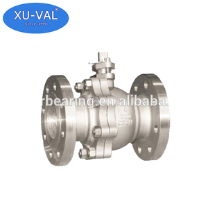EVB 4 inch stainless steel flanged ball valve
