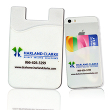 promotion cheap 3m sticky rubber phone pouch