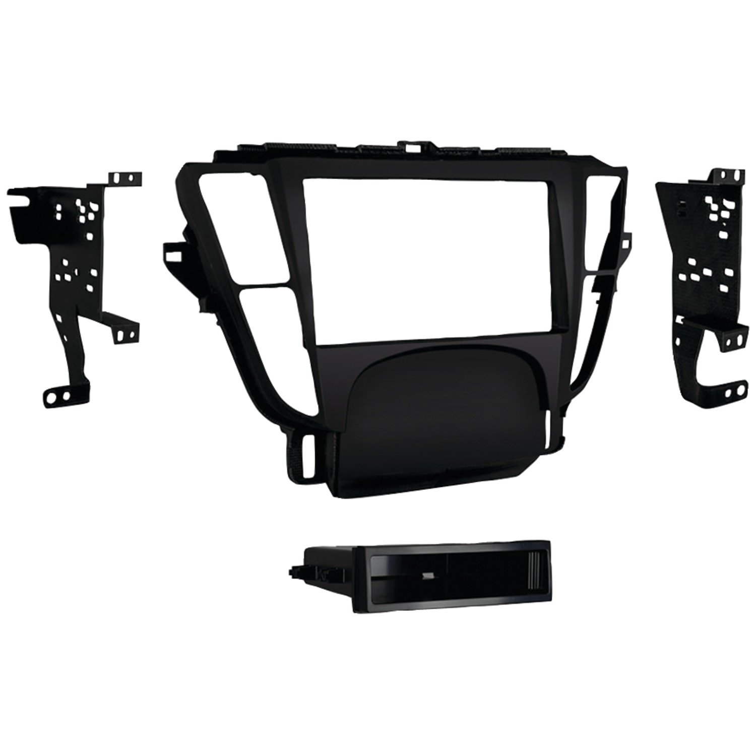 Metra 99-7808B Single/Double Din Dash Kit for 2009 - 2014 Acura TL (Black)