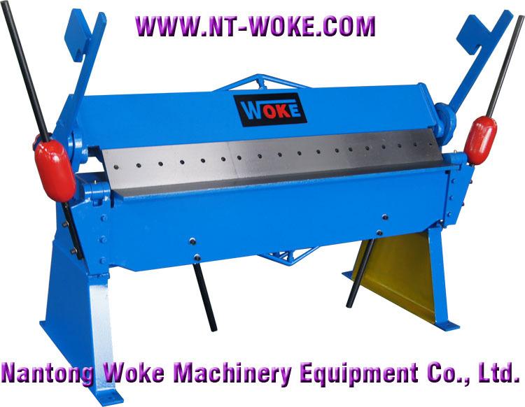 Manual Sheet Metal Press Brake Machine Manual Sheet Metal